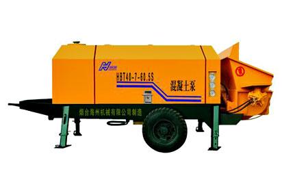 海州HBT40-7-60.5S混凝土泵高清图 - 外观