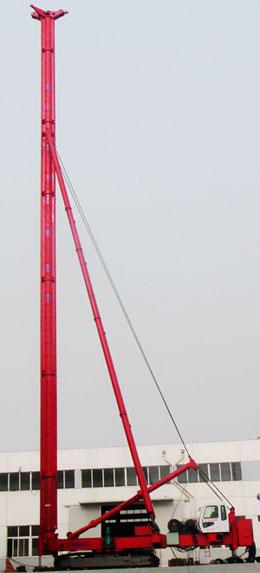 海州JZL90电动履带桩机高清图 - 外观