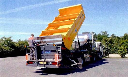 赛格玛40通用型同步碎石封层设备高清图 - 外观