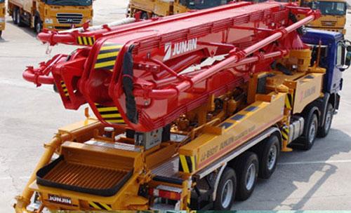 全进JJRZ52-5.16MB泵车高清图 - 外观