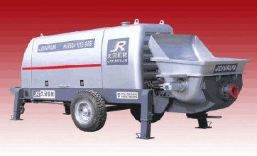 久润HBT闸板阀系列混凝土泵高清图 - 外观