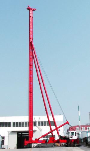 海州JZB60电动步履桩机高清图 - 外观