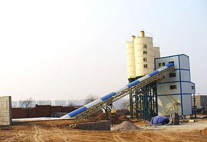 海州HZS150混凝土搅拌站