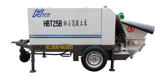 海州HBT25混凝土输送泵高清图 - 外观