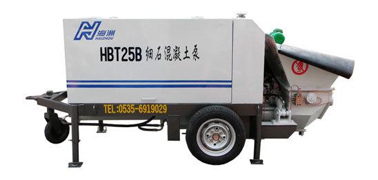 海州HBT25混凝土输送泵