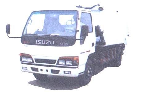 华菱星马AH5052ZYS压缩式打出垃圾车