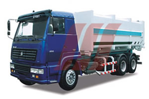 精功HJG5251ZXX车厢可卸式垃圾车高清图 - 外观
