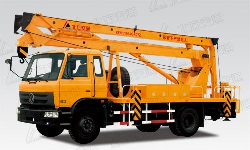 北方交通20米折臂式东风高空作业车
