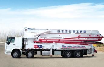 鸿达HDT5420THB-52/5泵车高清图 - 外观