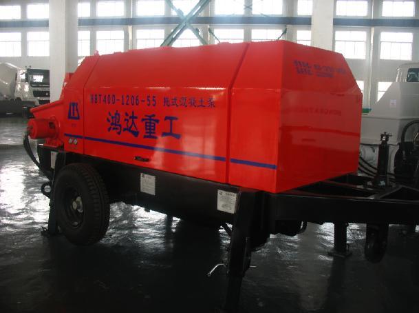 鸿达HBT40D1206-55拖泵高清图 - 外观