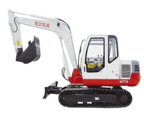愚公WY70履带式挖掘机