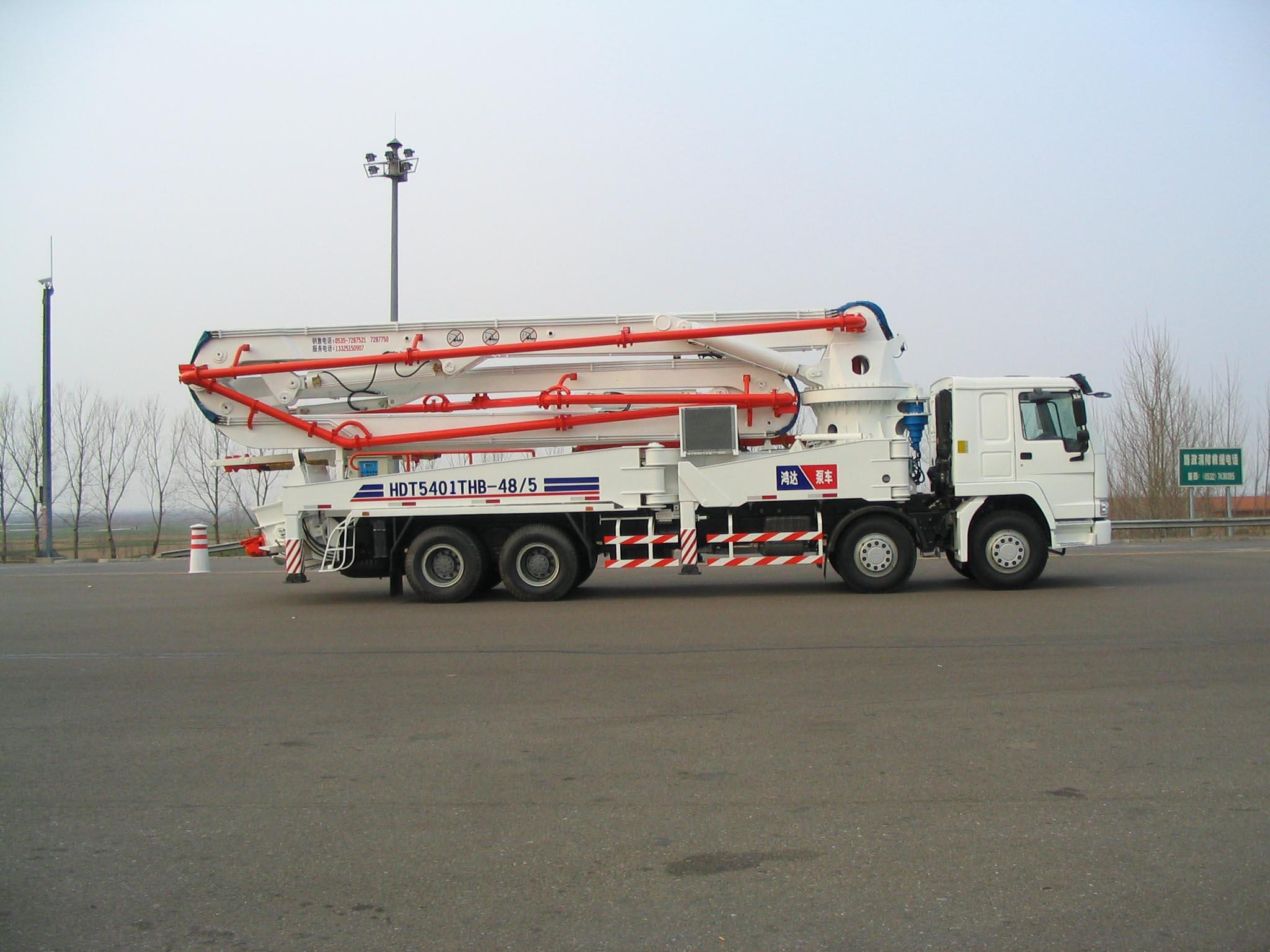 鸿达HDT5401THB泵车高清图 - 外观