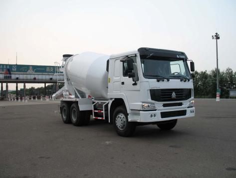 鸿达HDT5250GJB搅拌运输车高清图 - 外观