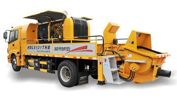 鸿得利HBT85-15-168S柴油拖式混凝土输送泵