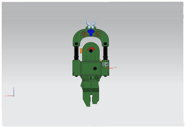 永安DZJ-45标准频率系列振动锤高清图 - 外观