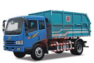 精功HJG5120MLJ密封式垃圾车高清图 - 外观