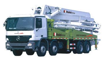 鸿得利HDL5380THB型混凝土泵车