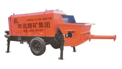 海天路矿HBT系列S管阀混凝土泵