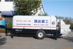 鸿达HBT90S1851-200高速铁路专用泵
