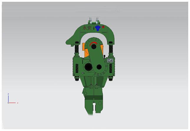 永安DZJ-90零启动系列振动锤高清图 - 外观