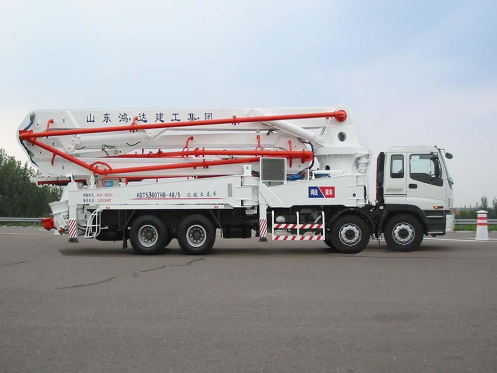 鸿达HDT5380THB泵车高清图 - 外观