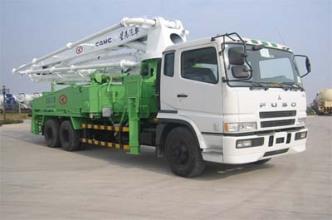 华菱星马AH5264THB混凝土泵车高清图 - 外观