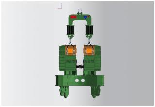 永安DZJ-600零启动系列振动锤高清图 - 外观