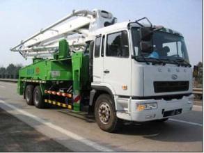 华菱星马AH5257THB混凝土泵车高清图 - 外观