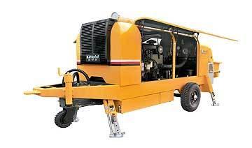 鸿得利HBT60-13-132S拖式混�婺�土输送泵