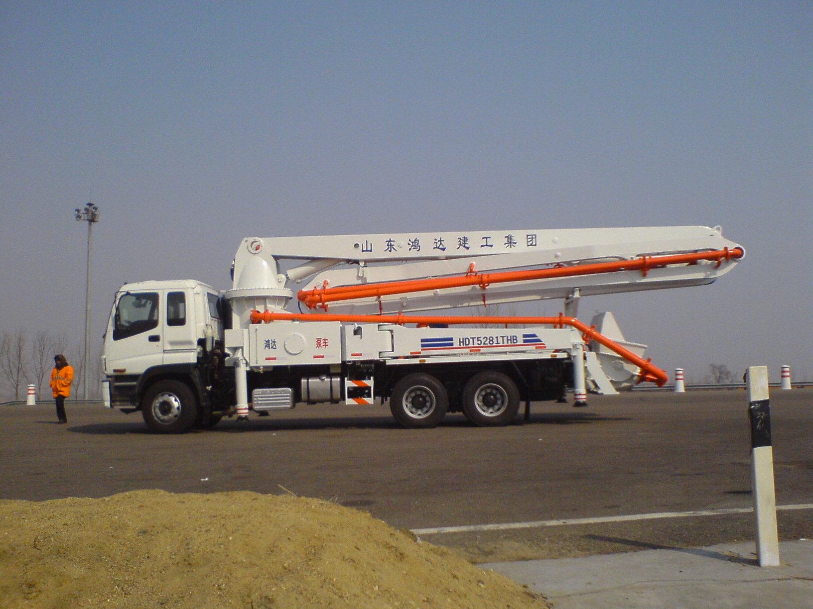鸿达HDT5281THB泵车高清图 - 外观