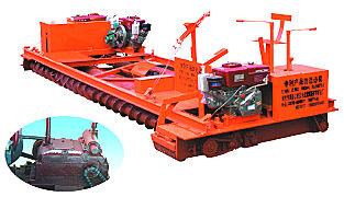 海天路矿C型柴油机动力水泥混凝土摊铺整平机