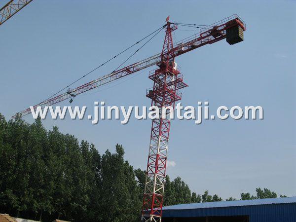 金源TC5013/5610  6T塔式起重机高清图 - 外观