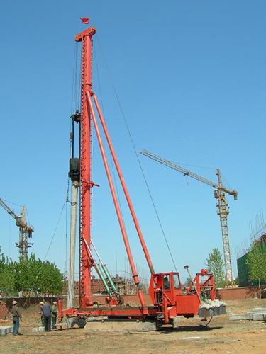 海天路矿KL系列步履式长螺旋钻机高清图 - 外观