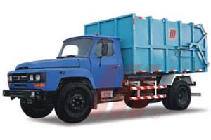 精功HJG5100密封式垃圾车高清图 - 外观