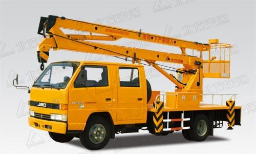 北方交通12米折臂式江铃高空作业车高清图 - 外观