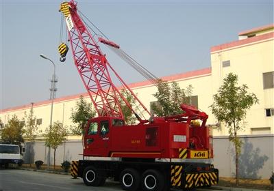 京城重工QLY55A轮胎起重机高清图 - 外观