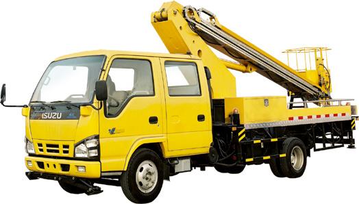 天地重工XTD5071JGK高空作業車