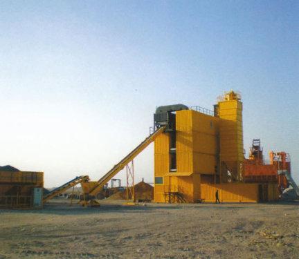 林泰阁CSD2500型集装箱式沥青混凝土搅拌站