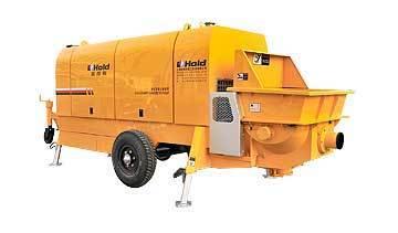鸿得利HBT80-18-195S拖式金仙混凝土输送泵
