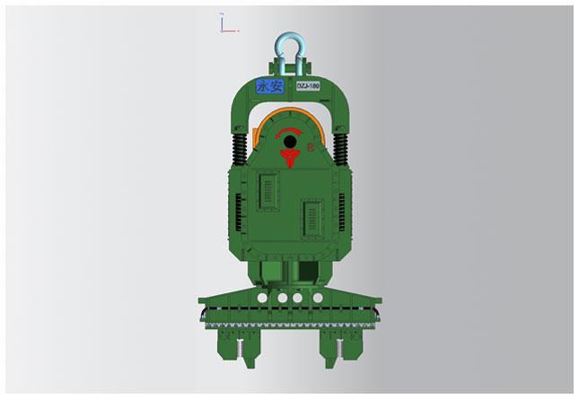 永安DZJ-180零启动系列振动锤高清图 - 外观