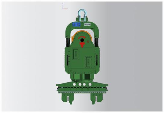 永安DZJ-180零启动系列振动锤
