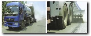 欧亚机械VS 738同步碎石封层车高清图 - 外观