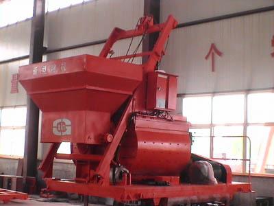 青岛科尼乐JS500混凝土搅拌机
