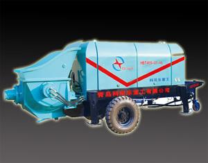 科尼乐重工HBT系列小型大骨料输送泵