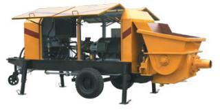 新型HBT系列混凝土输送泵