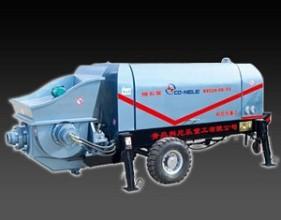 科尼乐重工XBS系列细石混凝土输送泵高清图 - 外观
