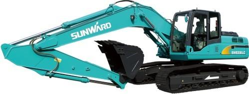 山河智能SWE230LC中型挖掘机