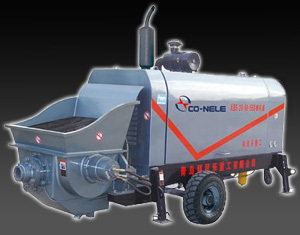 科尼乐重工DHBT系列柴油机小型大骨料输送泵