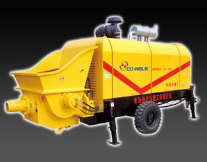 科尼乐重工DHBT系列柴油机混凝土输送泵