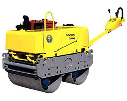 酒井HV80/ST小型振动压路机高清图 - 外观
